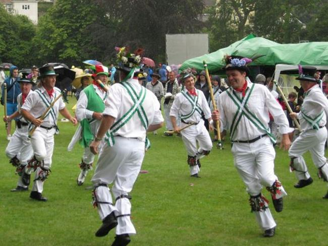 GIVE IT A TRY: Morris dancing.