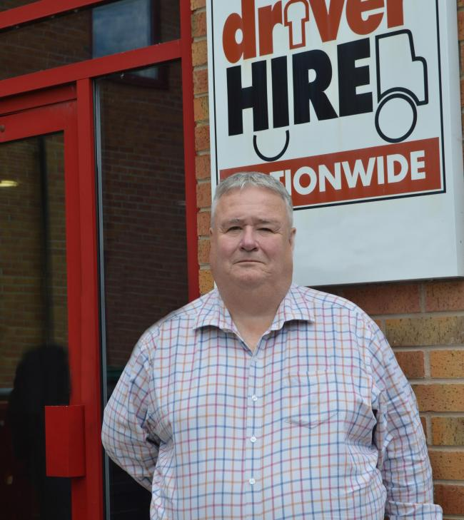 FRANCHISE: Andrew Partridge, new owner of Driver Hire's Worcester office