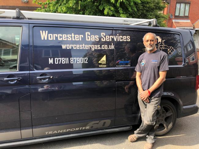 EXPERIENCE: Jas Mudhar runs Worcester Gas Services