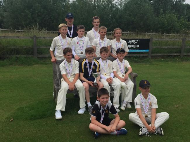 County champions Dumbleton under 13s. Picture: PETE BOORMAN