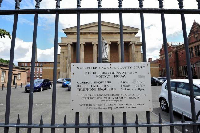 Exterior of Worcester Crown Court...12.7.19.