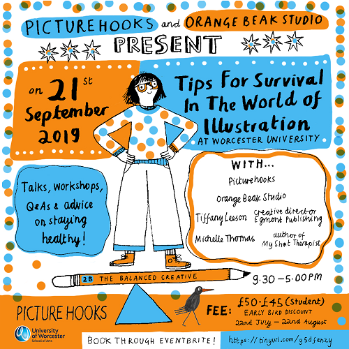 Tips for Survival in the World of Illustration