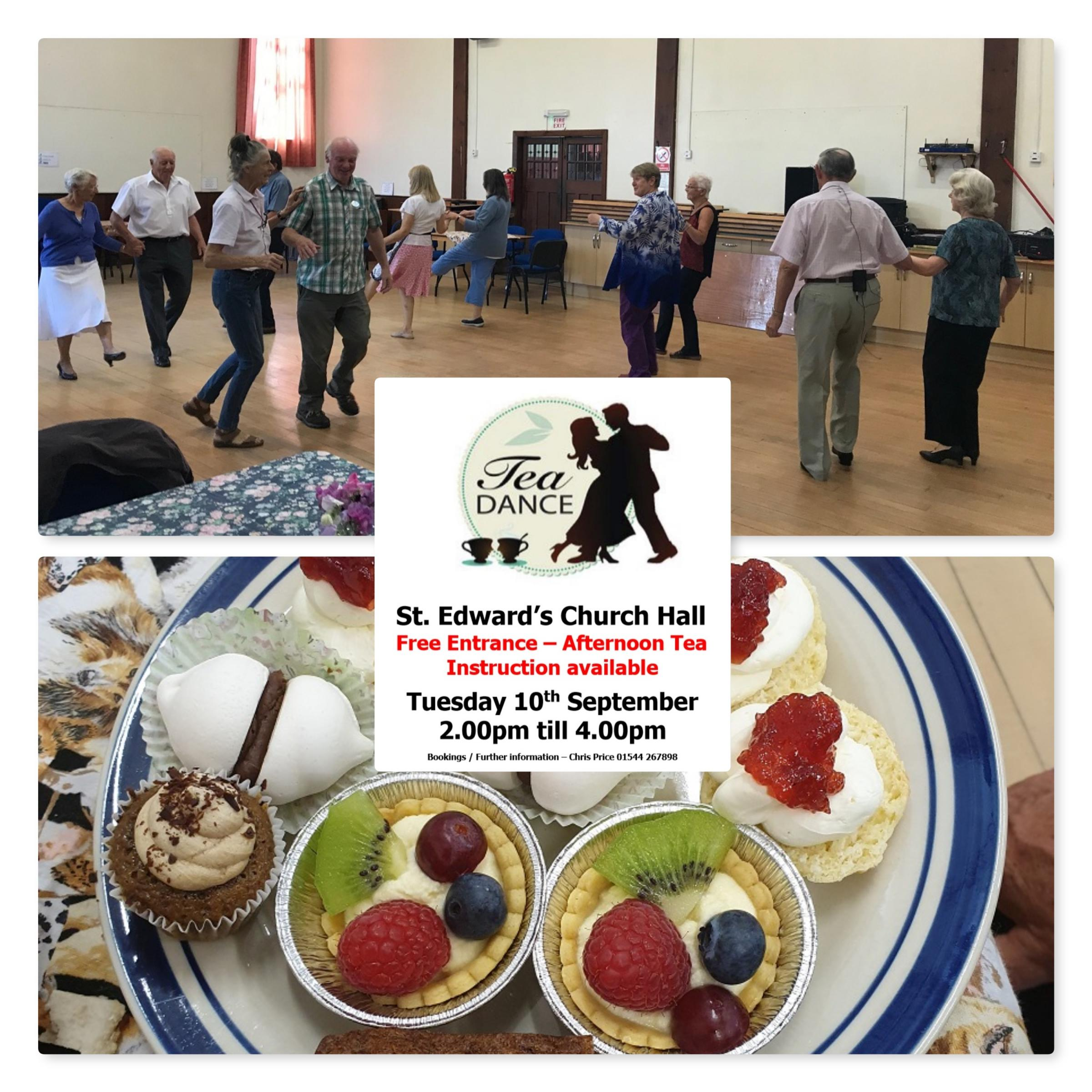 An informal tea dance and afternoon tea with Knighton Rotary