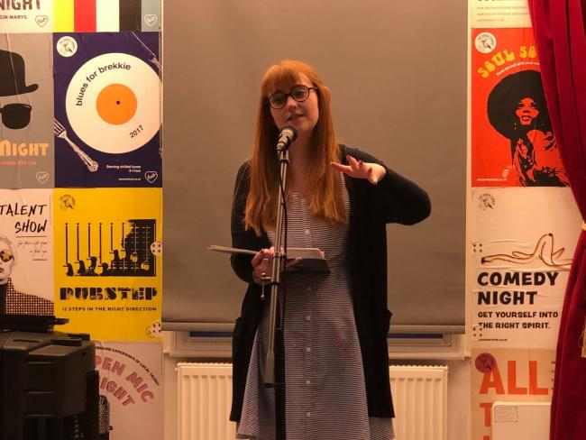Dr Charley Barnes, Worcestershire Poet Laureate for 2019-20