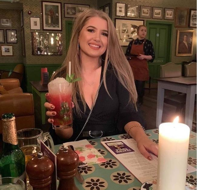 COCKTAIL: Eleanor Dobson at the Cosy Club