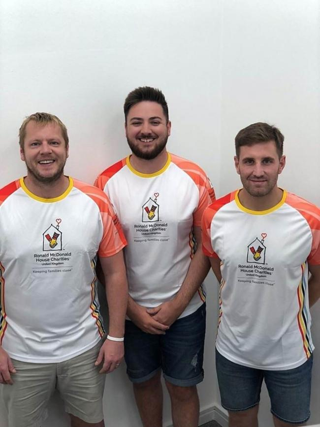 RUN: Matt Reynolds, Josh Bryan and Jake Willcox from Willcox Matthews Recruitment