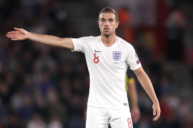 Jordan Henderson admitted England's second-half display was not good enough
