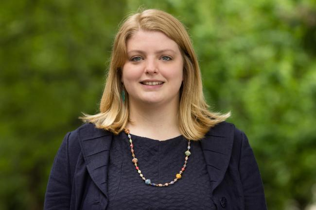 CANDIDATE: Sabrina Poole is standing as a parliamentary candidate