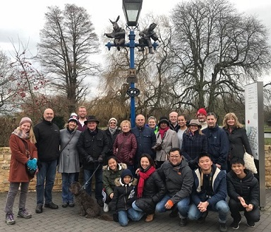 Christmas Day festive guided walk