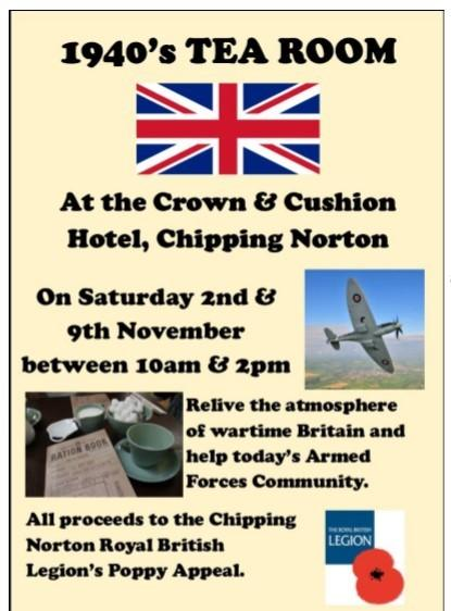 Chipping Norton RBL Poppy Appeal