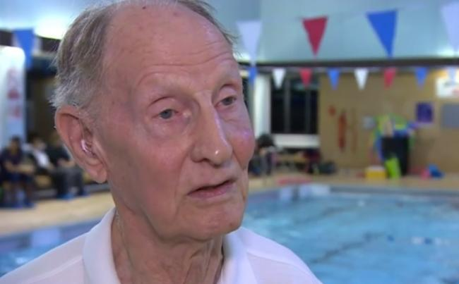 Inspirational: David Finney talking to the BBC in 2016. Photo: BBC