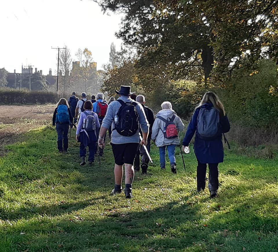 Where Vale meets the Cotswolds with Evesham Ramblers