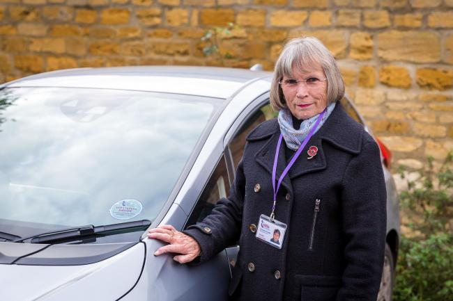 Community Transport Service driver Jenny Smith has been carrying out the role for 20 years