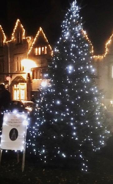 Chipping Campden Rotary Club Tree of Light 2018