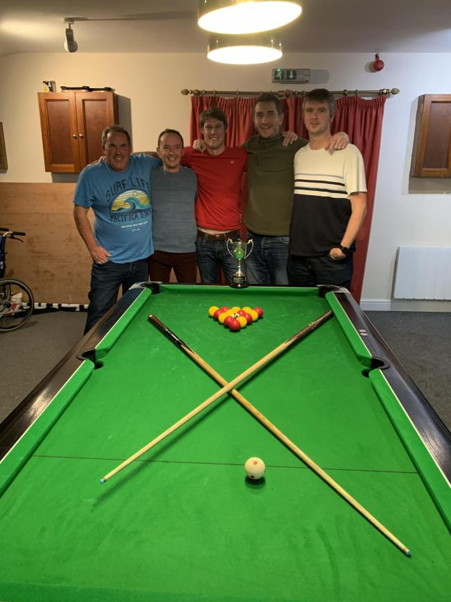 Pool winners Eckington. Picture: SUE COLLINS