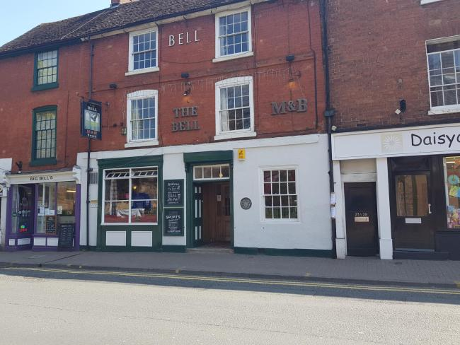 NOMINATIONS: The Bell Inn in Worcester
