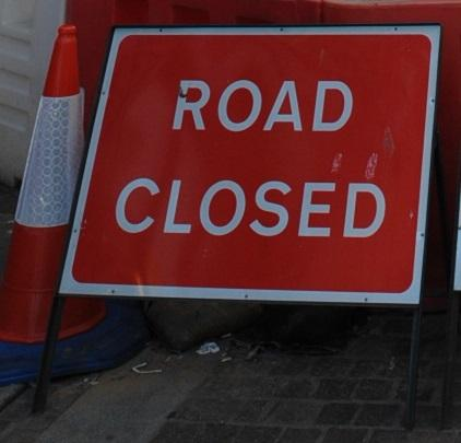 Lye High Street is closed to westbound traffic due to a collapsed sewer.