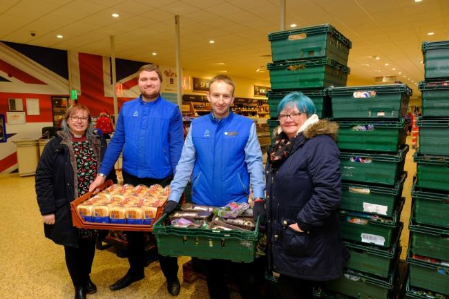 Aldi has paired up stores across the Cotswolds with local charities and food banks