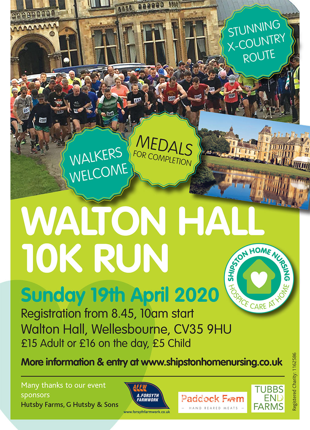 10k X-Country Run/Walk for Shipston Home Nursing