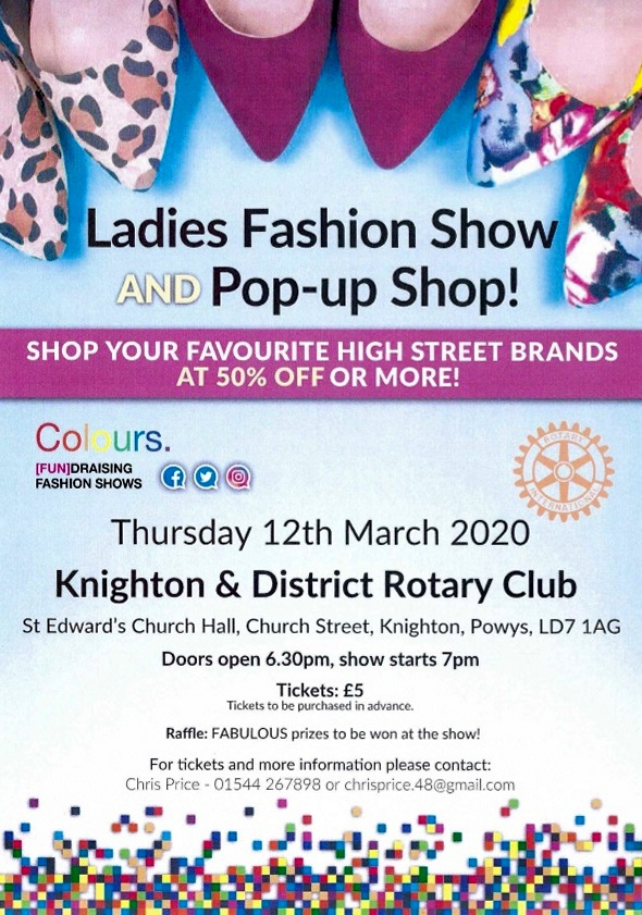 Knighton Rotary holds a Fashion Show for community charities