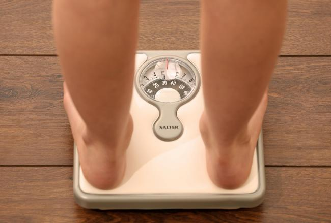More adults in Shropshire are overweight or obese than almost anywhere else in England. Picture: Chris Radburn/PA Wire.