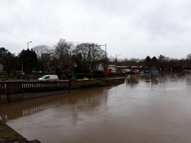 RISING: Flooding in Worcester