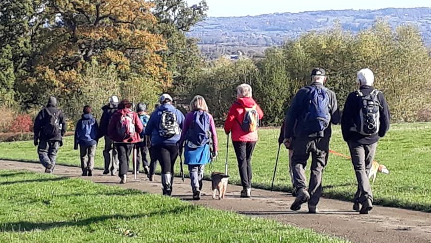 Bredon Hill to Parsons Folly walk with Evesham Ramblers