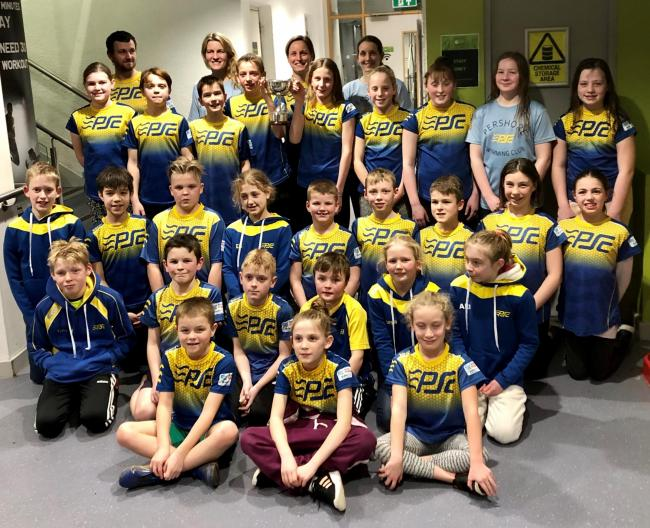 Pershore swimmers. Picture: PERSHORE SWIMMING CLUB