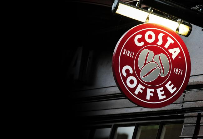 Costa Coffee. Pic: Rui Vieira/PA Wire