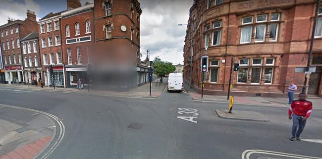 CRASH: Cars have crashed at this junction before