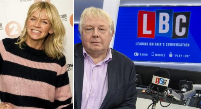 Radio 2 breakfast show sheds listeners, while LBC and Classic FM report audience surge