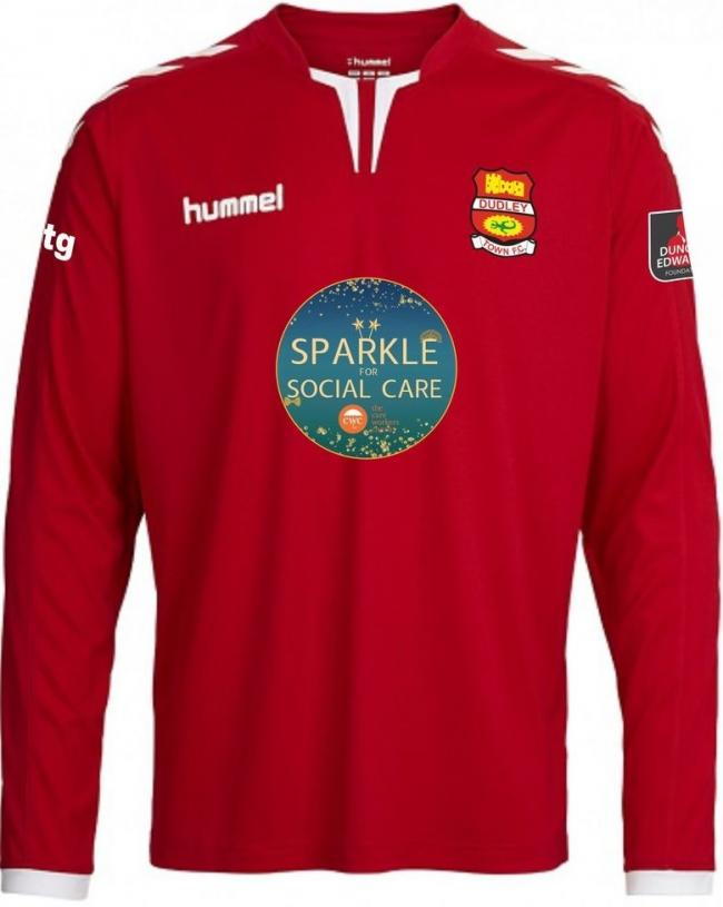 Dudley Town FC have launched their kit for the 2020/21 season in tribute to social care workers.