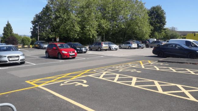 Parking charges are back but the 'park and ride' service is not