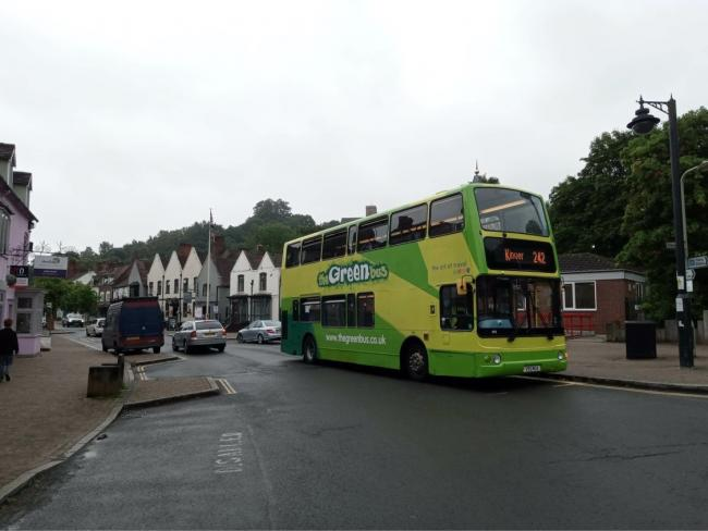 The Green Bus is running services from Kinver to Merry Hill throughout August