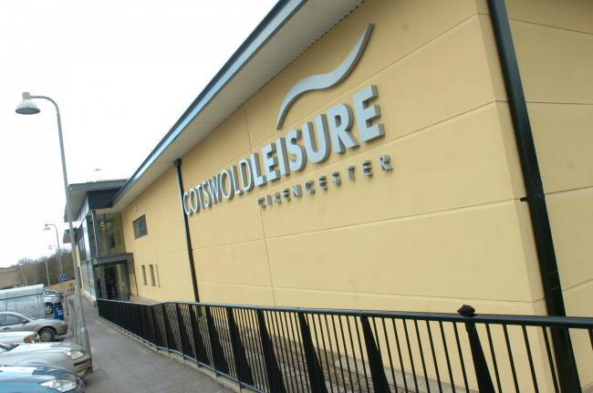 Cotswold Leisure Centre in Cirencester