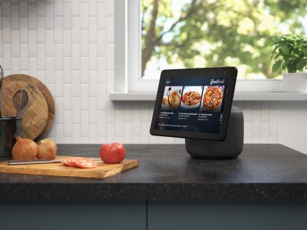 Cotswold Journal: The new Echo Show screen can swivel to follow the user. Picture: Amazon