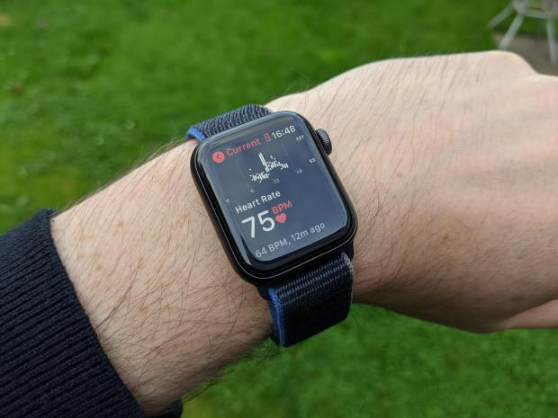 Cotswold Journal: You can track your heart rate throughout the day with the Apple Watch SE. Credit: Reviewed / Simon Hill