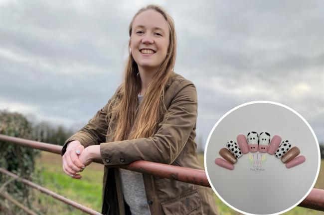 Laura Brewer has seen her new business thrive in lockdown with the help of the farming community