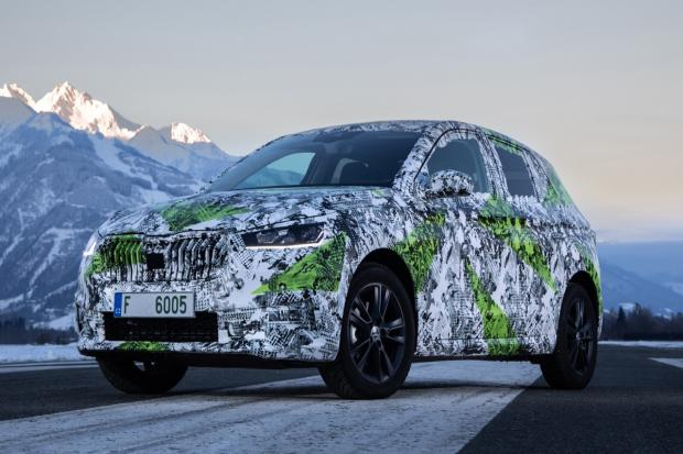 The new Skoda Fabia is expected soon.