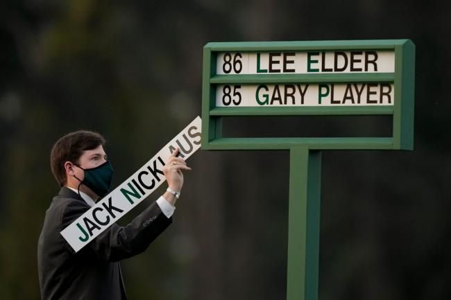 The Masters got under way on Thursday
