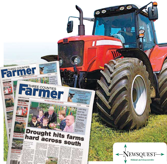 Cotswold Journal: tractor