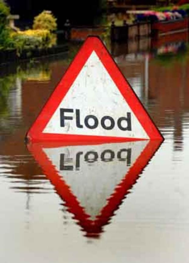 Flooding recedes in the Cotswolds