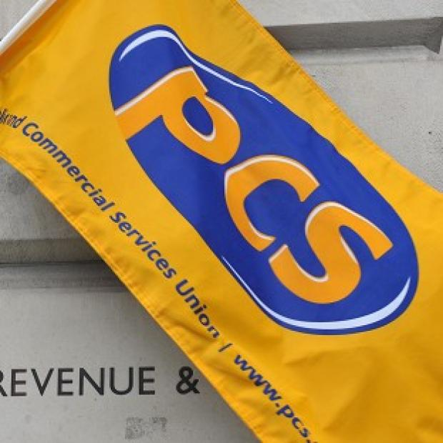 PCS members took part in last November's strike by public sector workers, and walked out again earlier this month