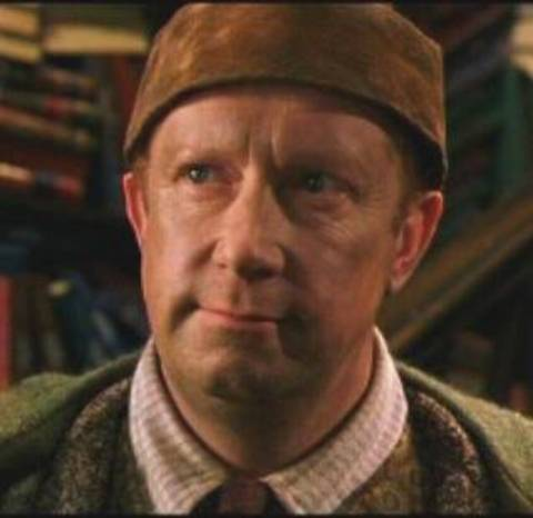 STAR: Mark Williams appearing as Arthur Weasley in the Harry Potter films.