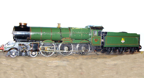 Valuable loco was stolen in burglary