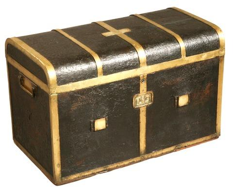 Captain Blackwood's Waterloo trunk