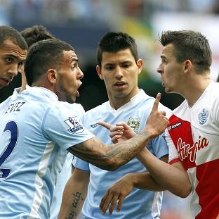 Joey Barton, right, must serve a 12-match ban