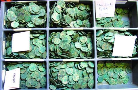 APPEAL: The coins which museum chiefs want to keep in the county