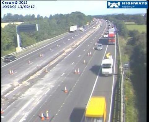 Slow going on M5