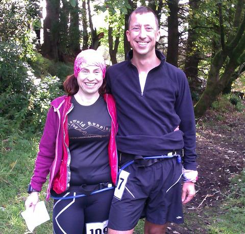 ULTRA COUPLE: Nicola and Kurt Dusterhoff competed in Ayr. Picture: JEFF THORNHILL